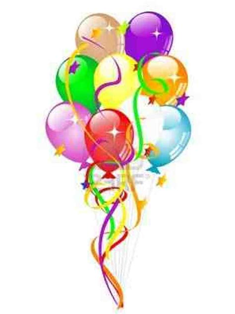 birthday balloons clip birthday baloons clipart best