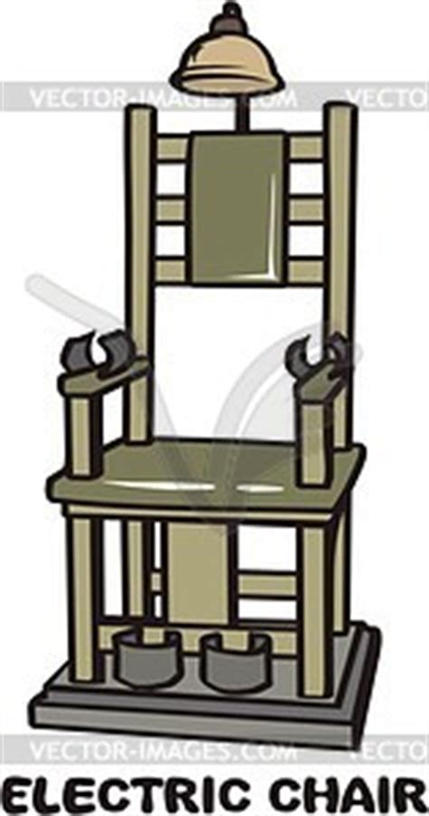 elektrischer stuhl überlebt elektrischer stuhl vektorisiertes bild