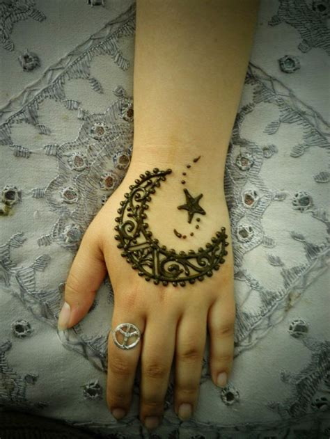 moon and star henna tattoo mehndi designs 2015 2016 trend of henna