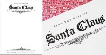 Santa Claus Letterhead Template by Free Santa Letterhead Diy