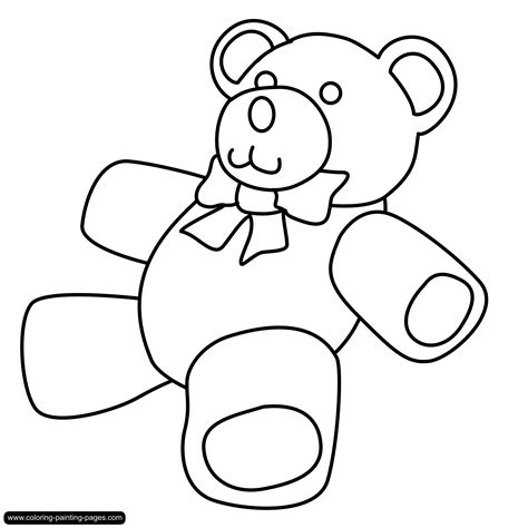 Teddy Outline Images teddy outline clipart best