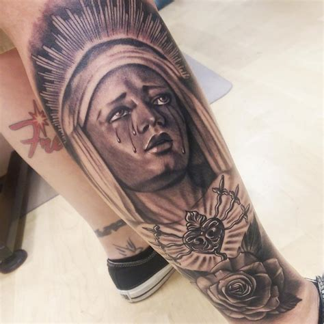 tattoo ideas virgin mary tattoos