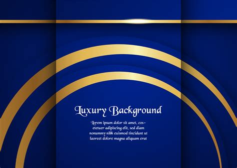 abstract blue background  premium concept  golden