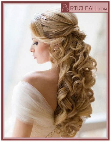 Wedding Hair Designs Bridesmaid by Bridal Hairstyles For Curly Hair