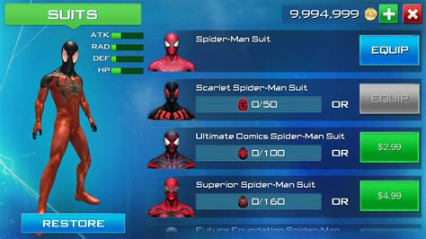 the amazing apk the amazing spider 2 1 1 0 apk data mod offline unlimited coins richard204