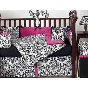 Baby Bedding Sets Not Pink Sweet Jojo Designs Pink Black And White