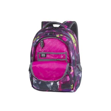 Cp Abstrak plecak szkolny coolpack cp basic plus pink abstract dla