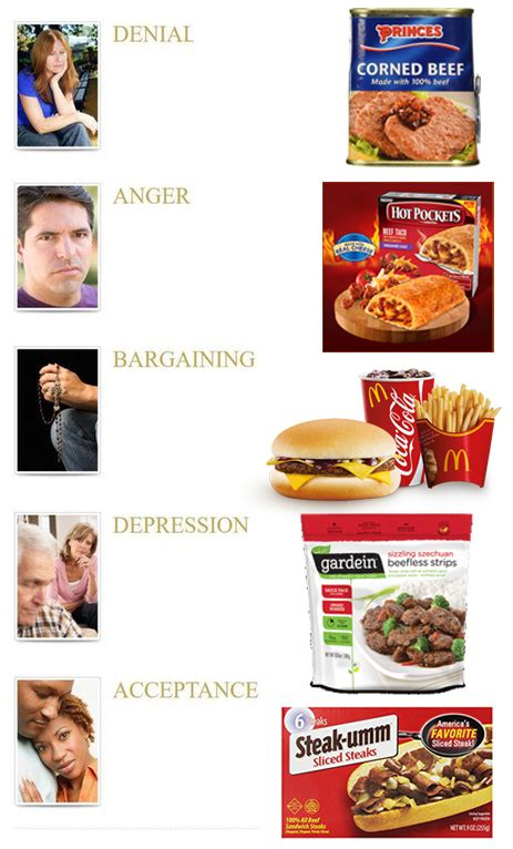 stages  grief memes  helping  deal