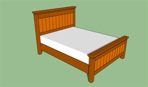 queen bed frame size how to build a queen size platform bed frame quick