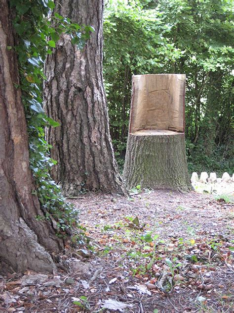 tree stump seats seat carved from a tree stump 169 pauline e geograph
