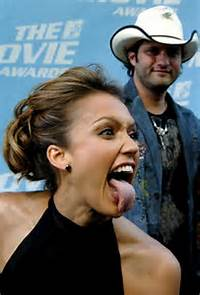 766 X 1128 Jpeg 87kB Celebrity Oops Pictures Jessica Alba  Tongue