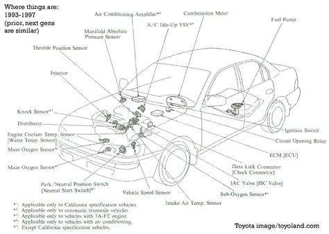 2003 Toyota Corolla Parts Iat Sensor Performance Chip Installation Procedure 2003