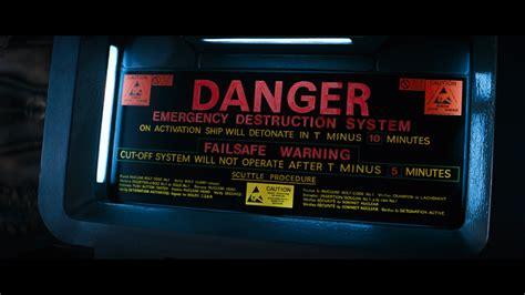 alien nostromo  destruct station rex wiederanders