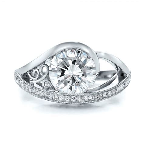 custom engagement ring 100551