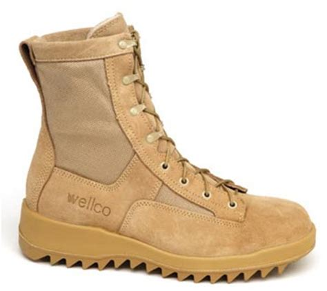 wellco enterprises inc footwear desert infantry combat boots closeout