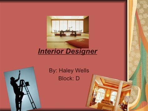 interior design powerpoint presentation exle interior design ppt