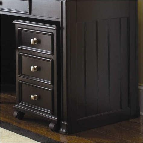 Office Designs Black 2 Drawer Mobile File Cabinet by Hammary Camden Mobile 2 Drawer File Cabinet In Black 919 941