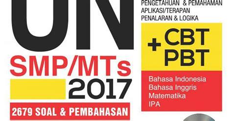 Pasti Top Un Smp 2016 imath solution buku buku latihan un 2017 sesuai kisi kisi
