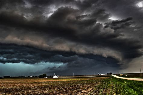 Photos: Scary looking clouds