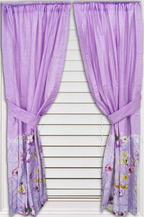 disney fairies like wind tinkerbell window drapes