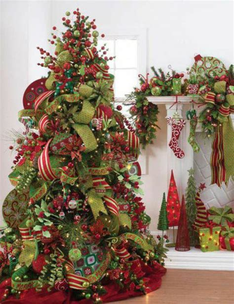 decorate  christmas tree  bows ribbon holidappy