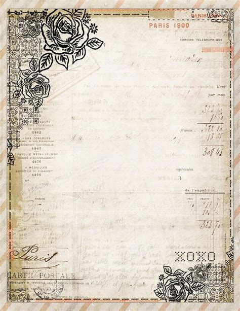fashioned writing paper template 25 unique stationary printable ideas on