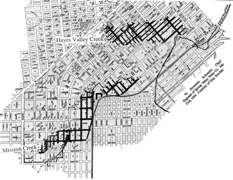 san francisco map before 1906 building boom on known quake hazards foundsf