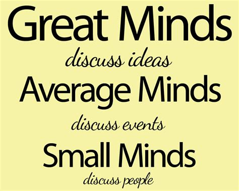 Small Quotes Quotes About Small Minded Quotesgram