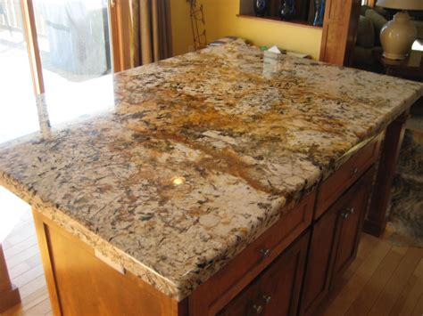 Metal Island Kitchen by Elegant Granite Countertop Edge Styles With Straight Edge