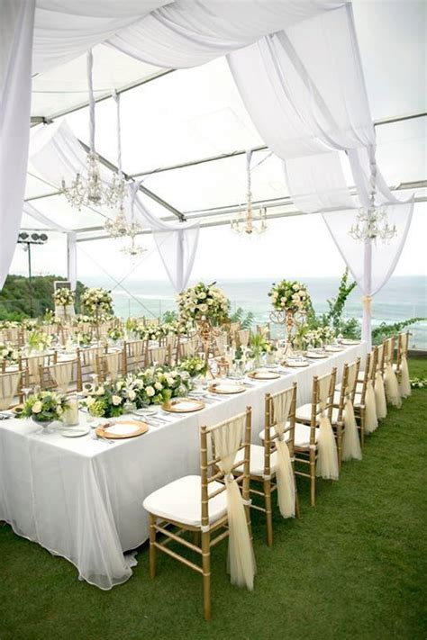And White Wedding Decorations by 1000 Ideas About Wedding Tent Decorations On