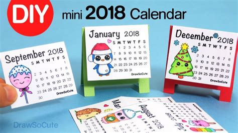 how to make calendar 2018 how to make a 2018 calendar easy diy craft