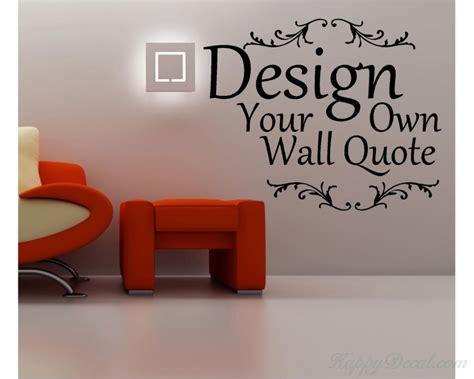 custom wall stickers words create your own wall quotes personalized words custom wall decal