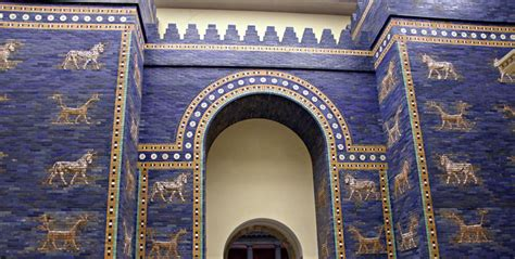 le porte di babilonia la porta di ishtar di babilonia al museo di berlino