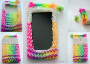 how to make a loom band ipod cover play and go
