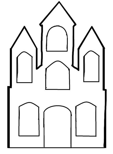 castle drawing template disney castle outline cliparts co