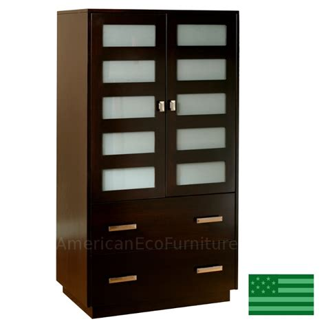 hudson armoire made in usa solid wood handcrafted amish claremont armoire american eco furniture