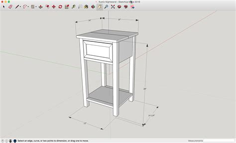 height of nightstand nightstand dimensions
