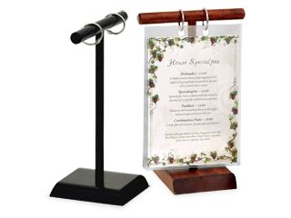 the beet table menu menu stands restaurant table tents table stands and