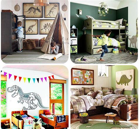 decoracion habitaciones infantiles dinosaurios 4 habitaciones infantiles 161 de dinosaurios pequeocio