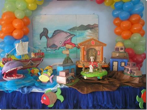 tema para graduacion biblica festa infantil tema jonas e o grande peixe veja esta e