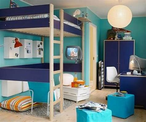 Blue Loft Bed With Desk by Ikea Size Loft Bed With Desk Home Design And Decor