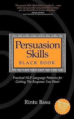a pattern language goodreads persuasion skills black book practical nlp language