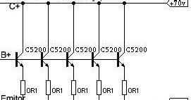 cara memparalel transistor sanken bahar electronic cara paralel transistor power lifier