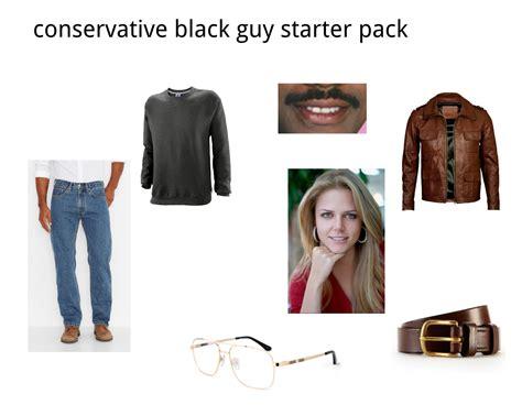 black packs conservative black starter pack starterpacks