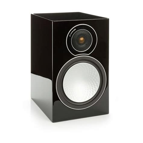monitor audio silver 2 bookshelf speakers gloss black