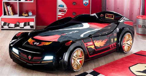 hot wheels car bed racing cars beds for boy bedroom