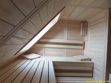 dachschrã ge sauna dachschr 228 ge wille sauna de