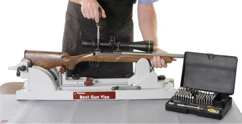 rifle bench vise tipton best gun vise mount stand rifle shotgun