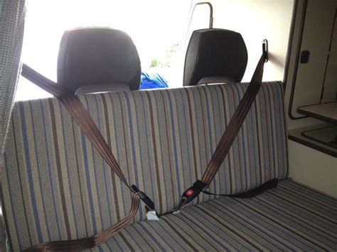 bench seat with seat belts 56 best images about very vanagon on pinterest