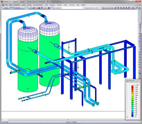 rohr2 pipestress analysis software rohr2 pipe stress